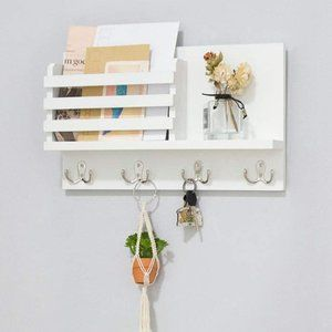 New Wall Mounted Mail Holder